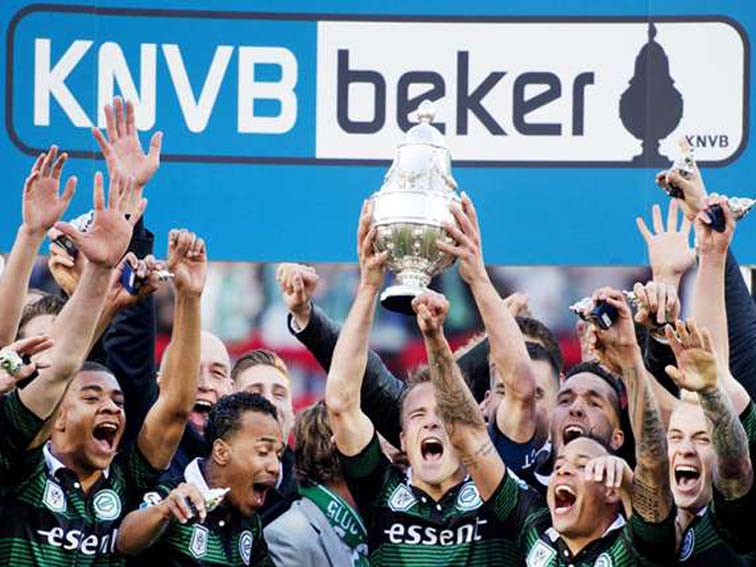 Groningen First Trophy of KNVB Cup